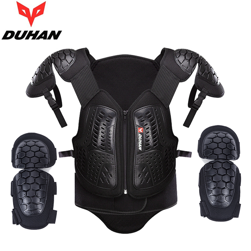 DUHAN Motorcycle body armor DH-05 motocross protective gear full body protector auto cycling racing protection guards защита для мотоциклиста racing motocross knee protector pads guards protective gear