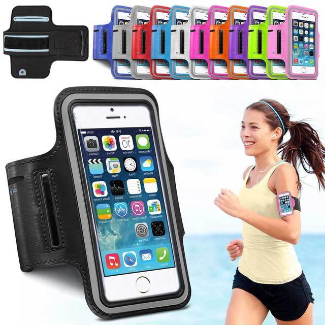 cheap for discount 02908 cbbb7 US $2.8 26% OFF Phone Cases for iPhone X 8 7 6s 5 SE case Sport Arm Band  Belt Cover Running GYM Bag Case for xiaomi 8 for huawei Samsung Holdel-in  ...