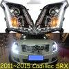 2011 2015 Car Styling For Cadilla SRX Headlights Free Ship Cadilla SRX Head Lamp HID LED