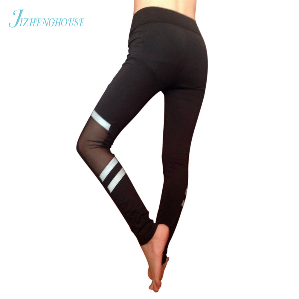 JIZHENGHOUSE Fitness Leggings For Women Mesh Leggings Pants Women Pants for Women