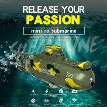 Wireless Mini RC Submarine Diving Floating Mini Submarine Kids Summer Water Toy Rechargeable Simulation Remote Control Toy pilotage mini submarine серая rc13688