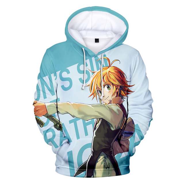 3D THE SEVEN DEADLY SINS HOODIE
