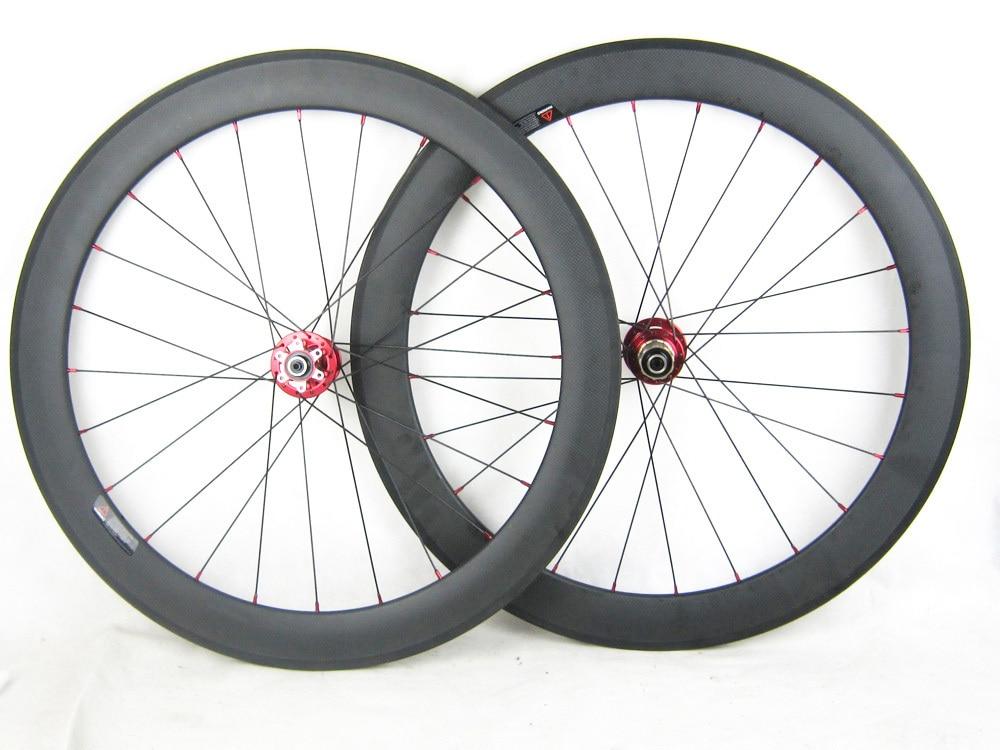 15mm Thru axle hub carbon fiber road cyclocross bicycle wheel set disc brake 60mm profile 23mm width swag off road bottle jack axle cradle