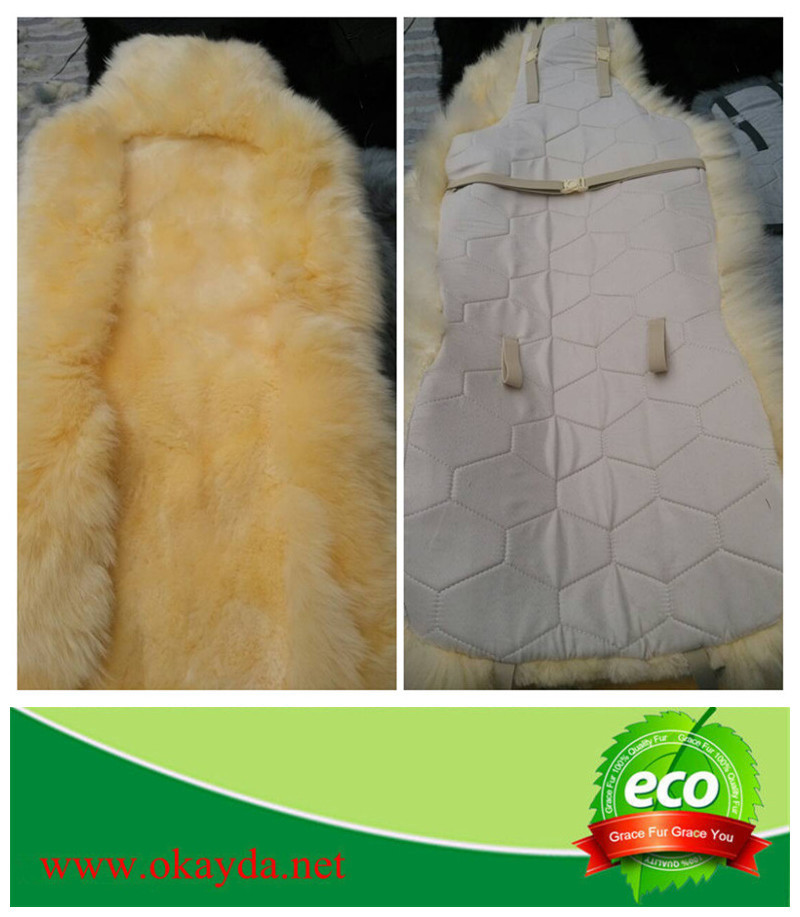 sheepskin car seat cover (117)