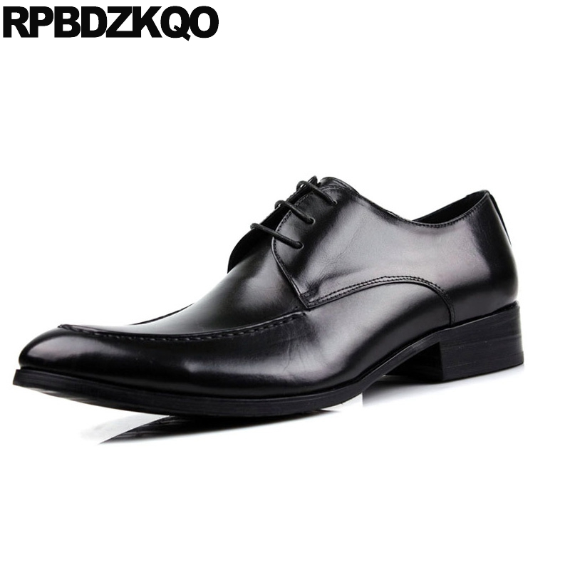 Genuine Leather Cow Oxfords Wedding Dress Luxury Business Black Party High Quality Italian Men Shoes Brands Metal Winter Hot hot sale italian style men s flats shoes luxury brand business dress crocodile embossed genuine leather wedding oxford shoes