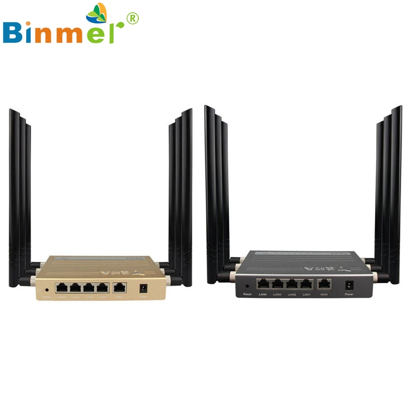 Top Quality 2017  300Mbps 5-Ports Wireless Router Fastest High Speed Wifi Router BCM5357 Chip U0227