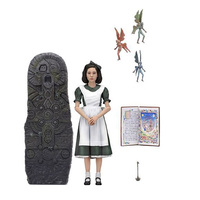 18cm NECA Pans Labyrinth El Laberinto del Fauno Ofelia PVC Action Figure Collectible Model Toys Gift Doll