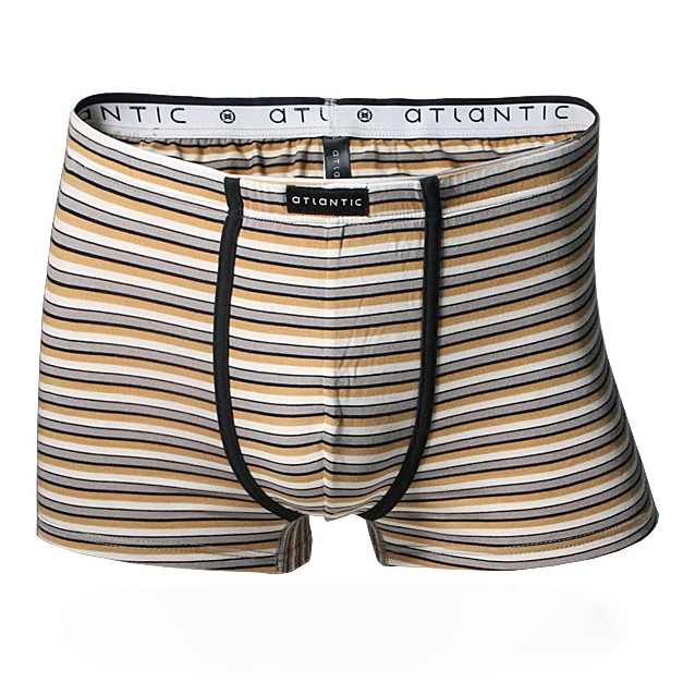 842e768cdc3 New! Atlantic Sexy Men s Underwear Modal Spandex Boxer Striped Plus ...