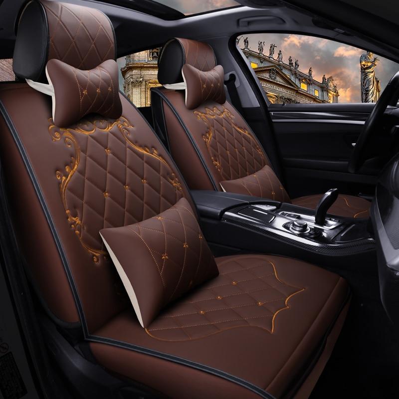 Чехол для автомобильного сиденья, универсальный автомобильный Стайлинг для Toyota Camry 40 RAV4 Verso FJ Land Cruiser LC 200 Prado 150 120, автомобильный коврик, Стайл