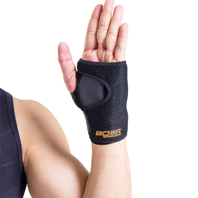 Hand Wristbands Removable Adjust Wristband Steel Wrist Brace Wrist Support Splint Fractures Carpal Tunnel Sport Sprain Mouse