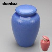 Crackle Glaze Ceramic Jars For Spice Food Container Kitchen Storage Bottle Sugar Tea Salt Jar Tea