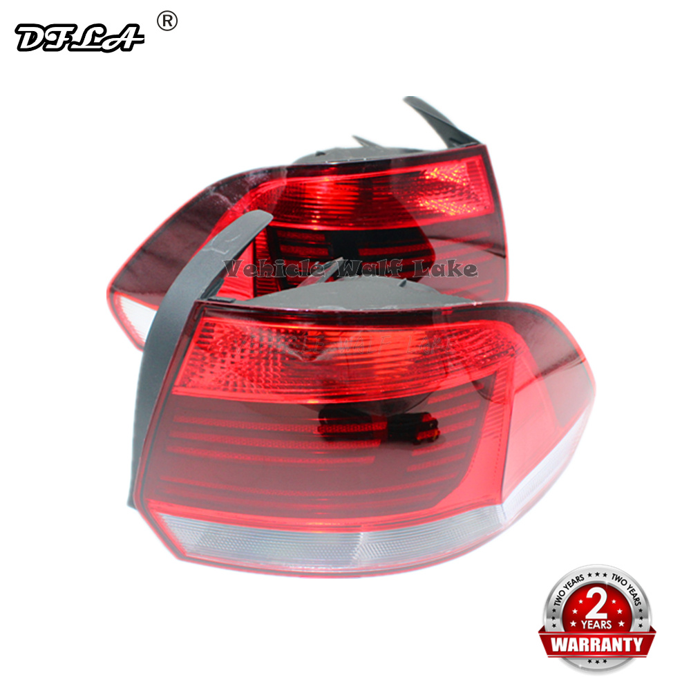 For VW Polo Sedan 2016 2017 2018 2019 Car-styling Rear Light  Tail Lamp Tail Light Without Bulbs