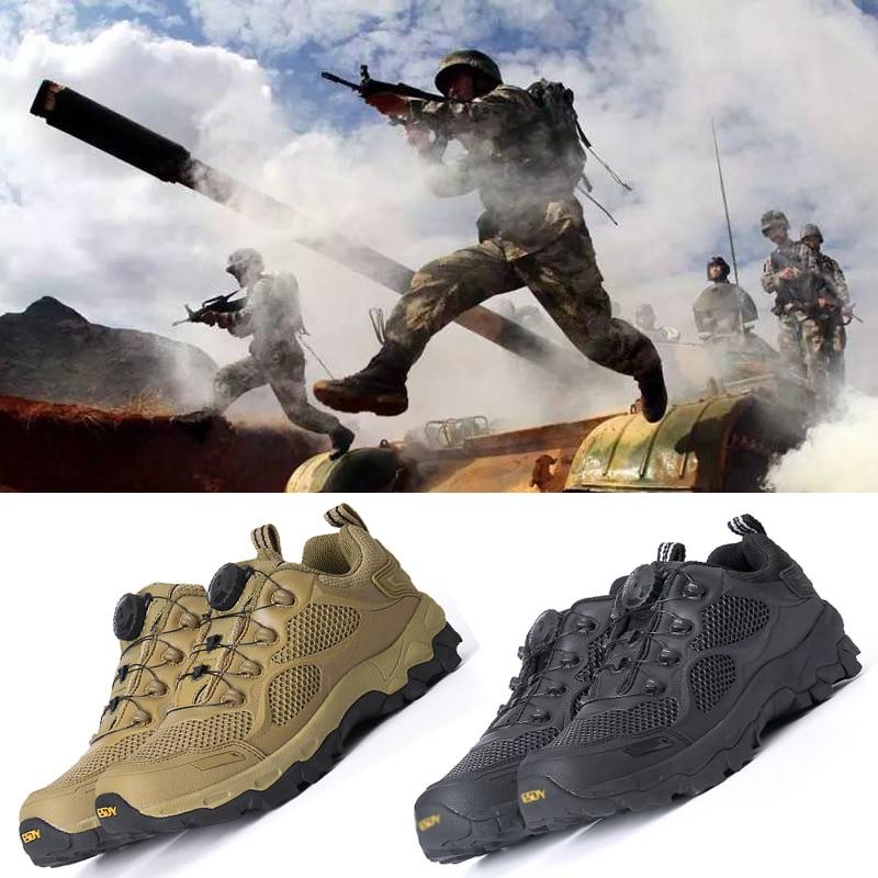 Bottes de Combat militaires tactiques MilNew bottes de réaction rapide mâle respirant Outdoo système de laçage neige randonnée Combat chaussures tatico