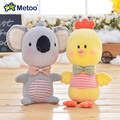 Metoo Plush New Style Standing Pudding Koala Dolls Cartoon Metoo Super Soft Koala Decoration Toys Best Gifts for Kids Girls Boys