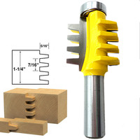 1/2'' Shank Router Bit Woodworking Drill Bit Woodwork Engraving Machine Milling Cutter 1/2