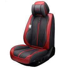Car Seat Cover (Front + Rear),New Universal Cushion,Senior Leather,New Sport Styling,Car-Styling For Sedan SUV