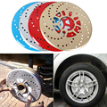 2pcs Universal Car Auto Aluminum Disc Brake Racing Cover Drum Red,Blue,Golden/Sliver