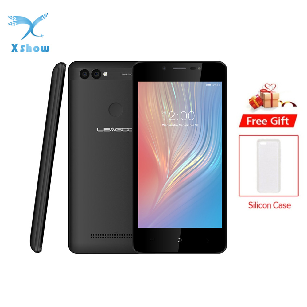 "LEAGOO POWER 2 Mobile Phone 5.0""HD IPS RAM 2GB ROM 16GB Android 8.1 MT6580A Quad Core Dual Camera Rear Fingerprint 3G Smartphone-in Cellphones from Cellphones & Telecommunications    1"