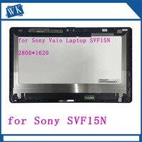 Бесплатная доставка LP156WF4 SPU1 VVX16T020G00 модель ЖК дисплея и сенсорного экрана дигитайзер для sony Vaio SVF15N SVF15N1C5E SVF15NB1GL