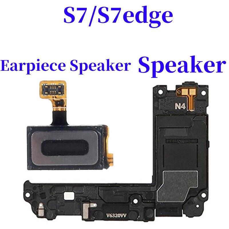 Original For Samsung Galaxy S7 G930 G930F S7 Edge G935F Ear Piece Earpiece Speaker Sound & Microphone Flex Cable Repair Parts