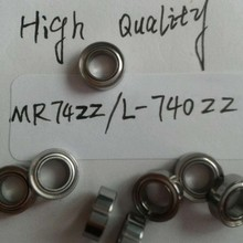 NMB Minebea 20 шт. MR74ZZ/L-740ZZ радиальные шарикоподшипники ABEC-5 4*7*2,5 мм MR74ZZ подшипник 674zz высокое качество