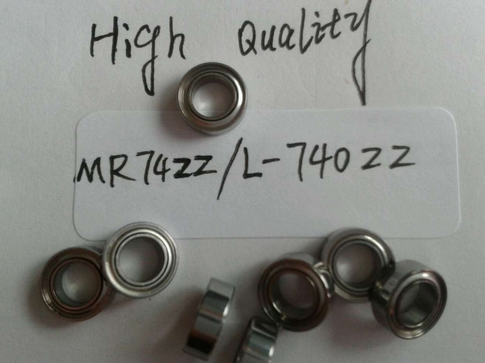 NMB Minebea 20PCS MR74ZZ / L-740ZZ Deep Groove Ball Bearings ABEC-5 4*7*2.5mm MR74ZZ Bearing 674zz The High Quality