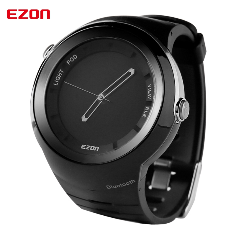 Top Brand Luxury Watch Smart Bluetooth Sport Military Digital Watch Men Quartz Wrist Watch Clock For iPhone Android Smart Phone splendid brand new boys girls students time clock electronic digital lcd wrist sport watch