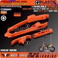 KTM Swingarm Chain Slider Slide Guide With Brake Hose Clamp Fit KTM SX SXF 125 150