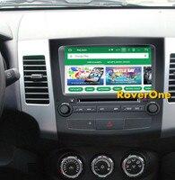 Roverone S200 Android 8,0 автомобильный мультимедийный плеер для Mitsubishi Outlander XL EX Авторадио DVD Радио Стерео gps навигации