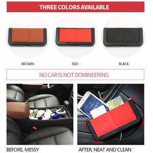 Image 3 - 車オーガナイザーシートバックポケットボックス車自動車片付けスタイリング収納袋ネット自動車の付属品車のための