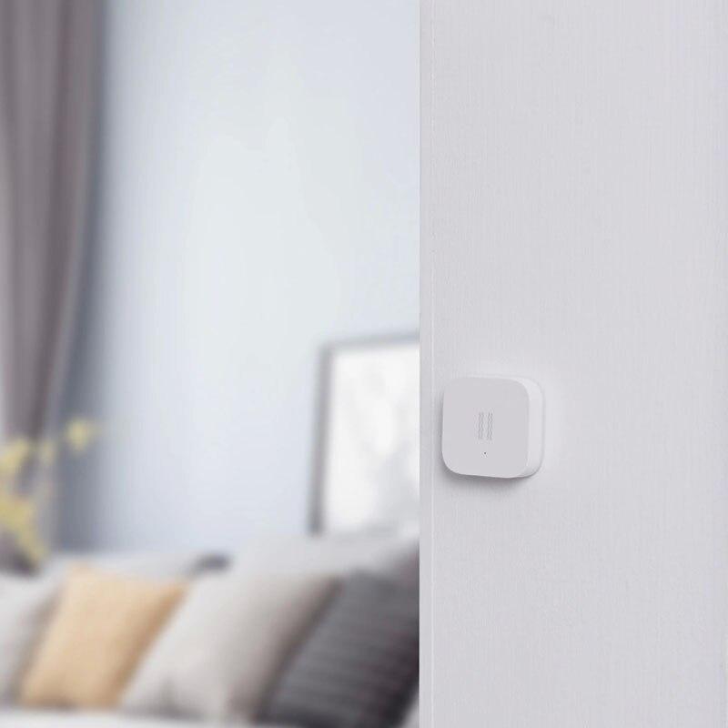 Sensor de Vibração Sensor de Choque para Segurança em Casa para Mijia Aqara Inteligente Zigbee Edição Internacional App