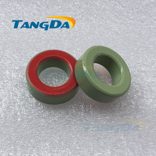 Tangda Iron powder cores T130-18 OD*ID*HT 33*20*11 mm 58nH/N2 55u Iron dust core Ferrite Toroid Core toroidal green red A.
