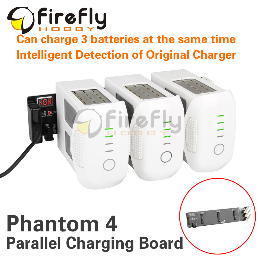 Phantom 4 Accessory Battery Parallel Charging Board Intelligent Rapid Charger Adapter Multi Battery Charger for DJI Phantom4