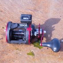Trolling Reel Saltwater Sea Fishing Reel Right Hand Drum Reel 4 Bearing 12KG Max Darg (Gear Ratio: 4.1:1) Fishing Tools недорого