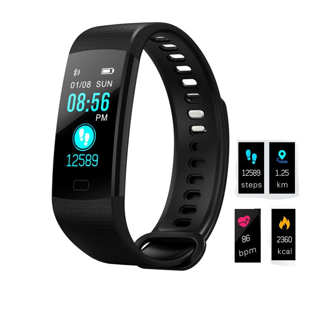 Fitness Tracker Smart Uhr Armband Herz Rate/Blutdruck Sauerstoff Überwachung Handgelenk band Pedometer Für IOS PK ID115 Mi band 2