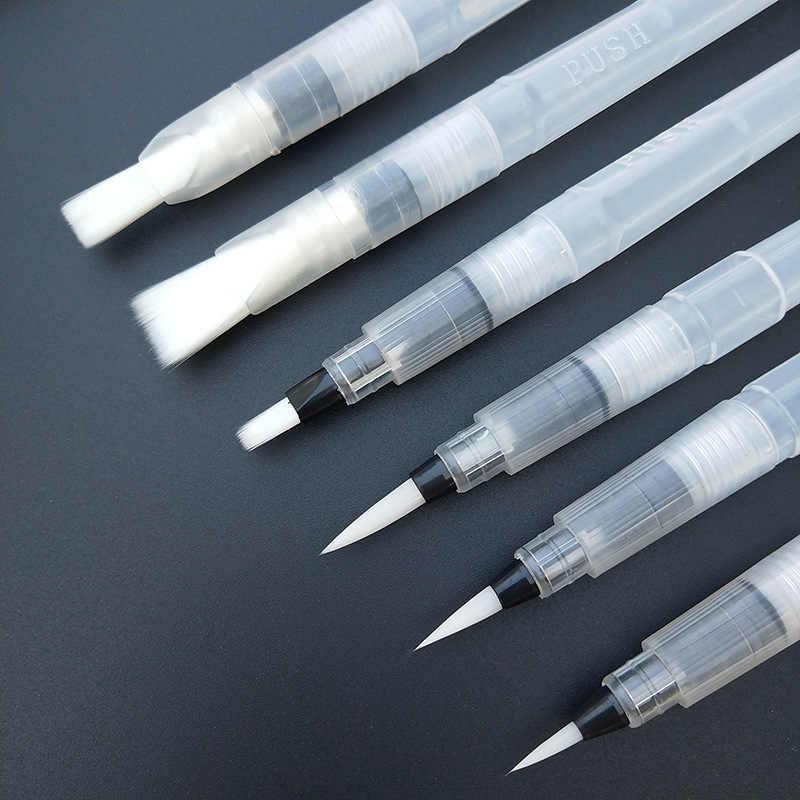 Recargable portátil cepillo de pintura de agua Color cepillo suave acuarela cepillo pluma pincel para principiantes de dibujo y pintura arte suministros