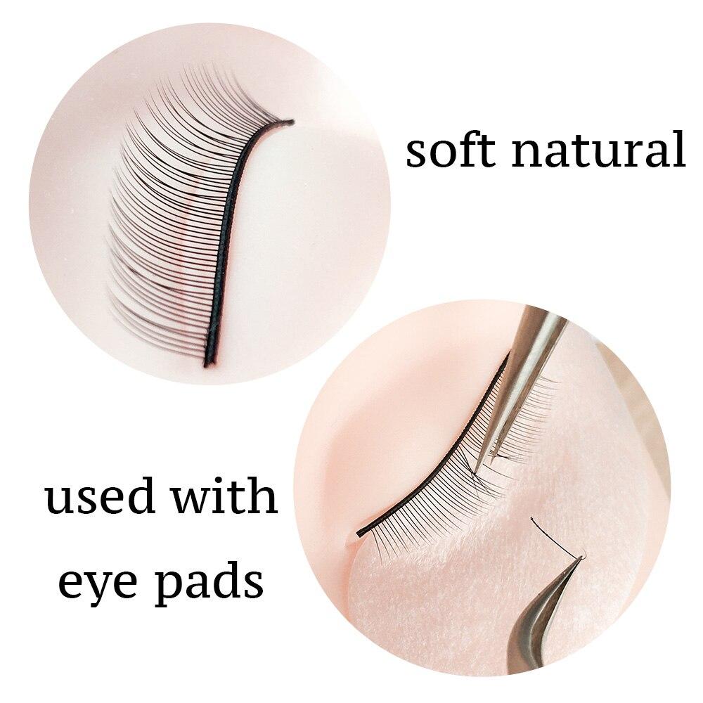 Image 5 - NAGARAKU  10trays/Set False Eyelashes Handmade Training Lashes For Beginners Eyelash Extensions  Beauty Salon Student PracticeFalse Eyelashes   -