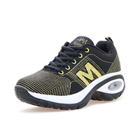 Women Running Sneakers Height Increase Sport Shoes Woman Running Spring Summer Women Athletic Sneakers Gray Gym