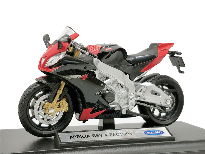 Welly 1:18 Aprilia RSV 4 Factory Diecast Motorcycle image