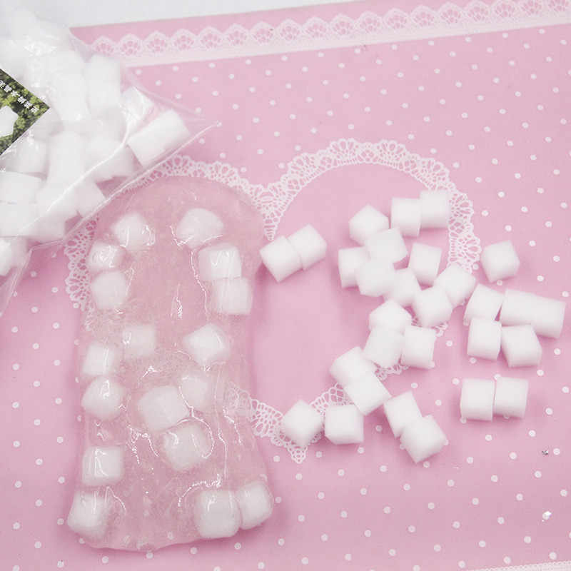 6g Clay Slime Filler Supply Plastic Foam Chunks Decoration DIY Accessories Fluffy Foam For Fruit Slime Supplies Foam Filler Kids