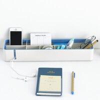 Контейнеры для рабочего стола Настольный органайзер аксессуары для офисных столов стол хранение офисная ручка и канцелярский держатель