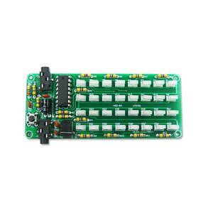 Image 2 - 1 Set ASD 84 Level Indicator Accessories Frequency Spectrum Kit Audio Music Voice DIY Kit Electronic Sensitive Tool