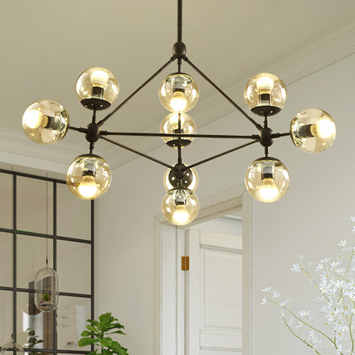 Modern Glass Modo Pendant Light Nordic Dining Room Kitchen Designer Hanging Lamps Avize Lustre Lighting