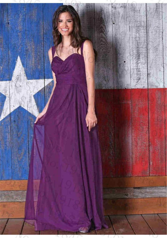 Purple Long font b Bridesmaid b font font b Dresses b font for Cheap 2017 Sweetheart