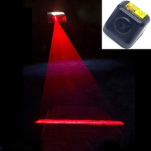 Anti Rear-end Car Rear Led Laser Fog Light Warning Light Auto License Plate Light Rear Tail Lamp 12V 24V Waterproof Car Bus sktoo lowest price car auto rear trunk assembly license plate lamp light switch button for chevrolet cruze