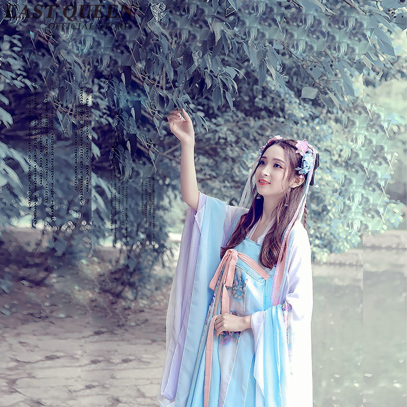 Wholesale Chinese folk dance national dance costume brocade women's classical hanfu costume cosplay clothing AA2555 YQ