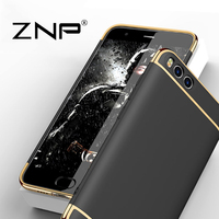 ZNP Luxury Case For Xiaomi Mi 6 Mi6 Cover 360 Degree Protection Hard PC Mobile