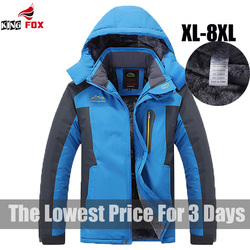 King size 5xl 6xl 7xl 8xl 9xl warm winter jacket men fleece thicken waterproof cotton down.jpg 250x250