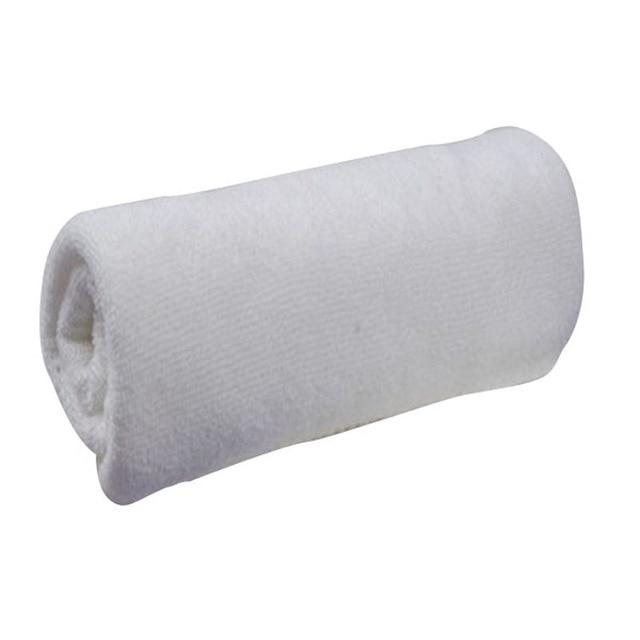 30 60 Cm White Soft Microfiber Fabric Face Towel Hotel Bath Wash Cloths Hand
