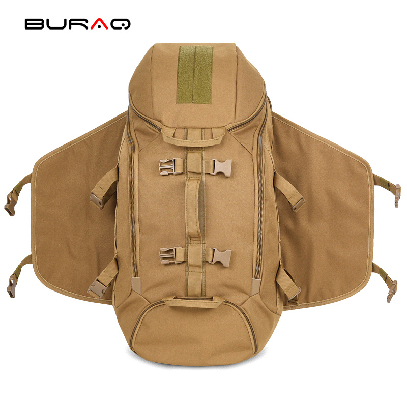 ФОТО BURAQ New military backpack male water-proof Oxford 600d bags backpack high grade multi-function large capacity travel
